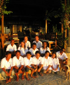 Black Marlin Diving Staff - Group Photo