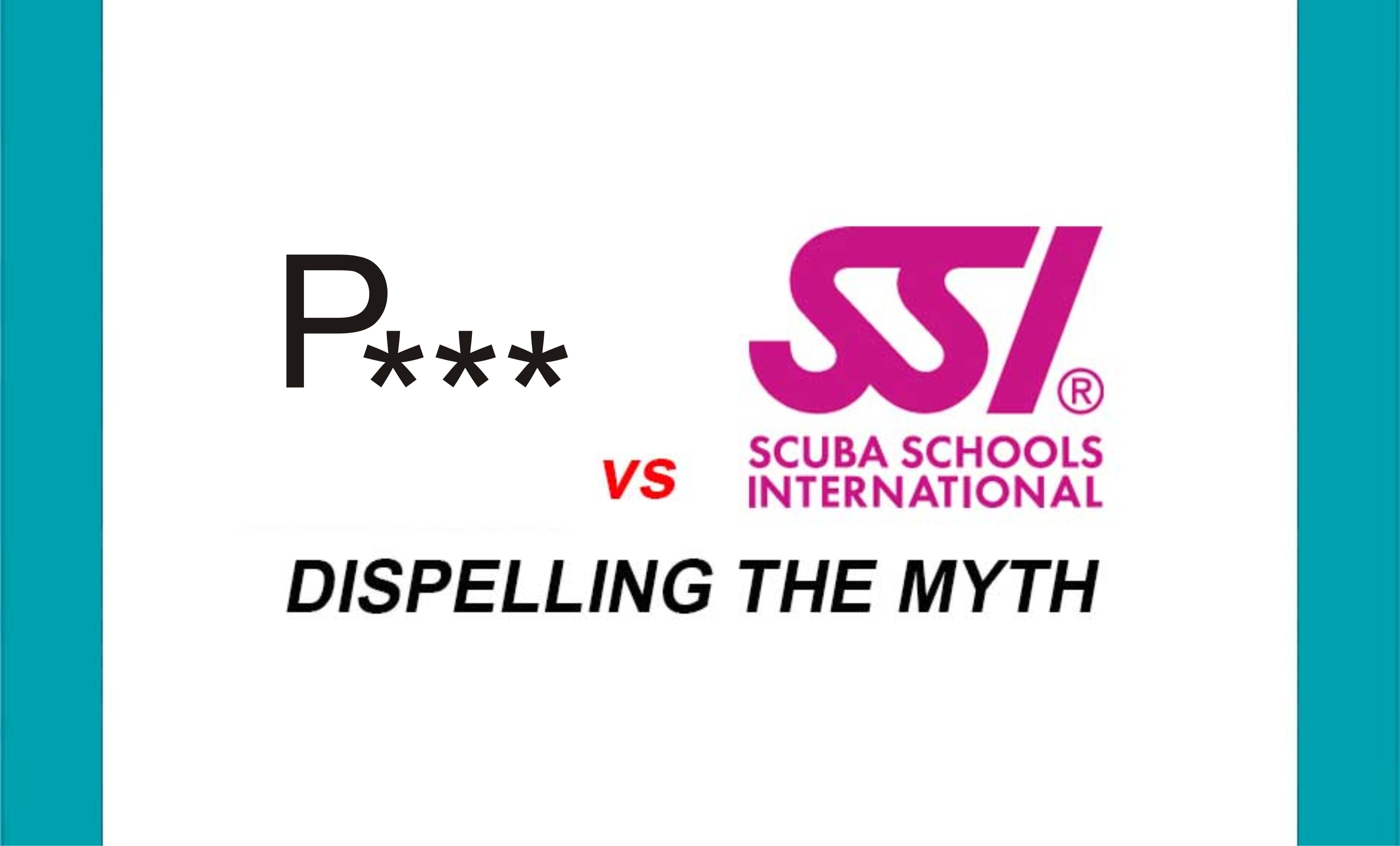 Scuba Diving Courses Padi Vs Ssi What Is The Difference Black